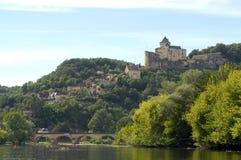 Château féodal de Castelnaud Photos libres de droits