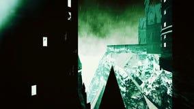 Château fantasmagorique de Dracula Images libres de droits