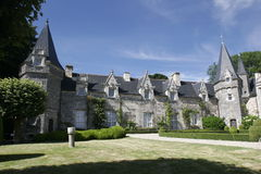 Château français Photo libre de droits