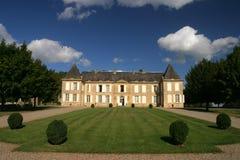 Château france summer building. Idylic rich posh dream summer france dordogne tourist Royalty Free Stock Photography