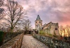 Château Frankenstein, Darmstadt, Allemagne image stock