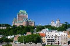 Château Frontenac Image stock