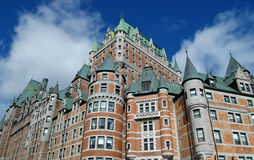 Château Frontenac Photo stock