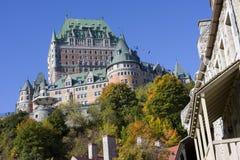 Château Frontenac en automne, Québec photo stock