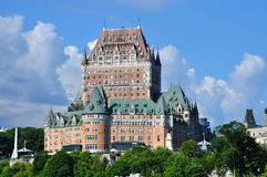 Château Frontenac. Famous and landmark hotel in old town Quebec City, Quebec Stock Images