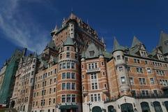 Château Frontenac, Québec-Stadt, Kanada Lizenzfreies Stockbild