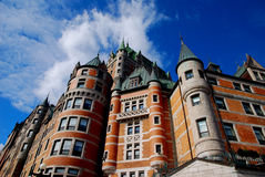 Chateau Frontenac Quebec City Stock Image