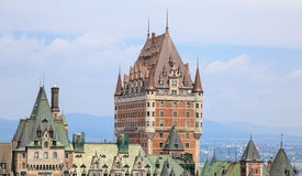 Château Frontenac Quebec City Royalty Free Stock Image