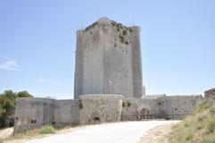 Château gothique d'Iscar images stock