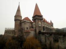 Château gothique en Transylvanie Photo libre de droits