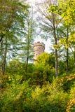 Château Greifenstein dans le bois photographie stock