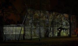 Château hanté Image libre de droits