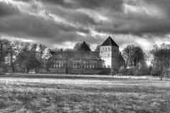 Château hanté HDR Photographie stock