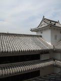 château Himeji de construction Images stock