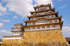 Château, Himeji, Japon Photo libre de droits