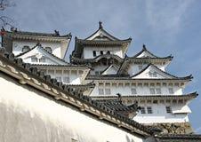 château Himeji Japon Images stock