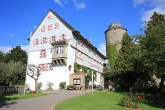 Château historique Neuenstein dans Hesse, Allemagne images libres de droits