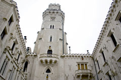 Château Hluboka - Tchèque Image stock