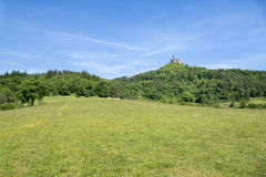 château hohenzollern Photographie stock libre de droits