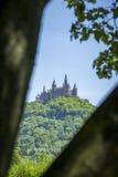 château hohenzollern Images libres de droits