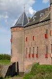 Château hollandais Muiderslot Photographie stock
