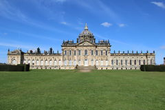 Château Howard, comté de Yorkshire, Angleterre images libres de droits