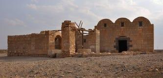 Château II. de désert de Quseir Amra. Photographie stock libre de droits