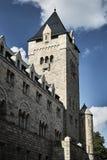 Château impérial avec la tour image stock