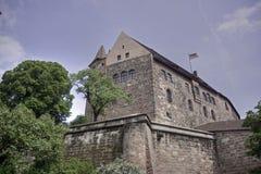 Château impérial, Nuremberg image libre de droits