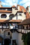 Château intérieur de son, maison de Dracula, Brasov, la Transylvanie images stock