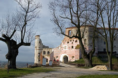 Château Janowiec - Pologne Photo stock