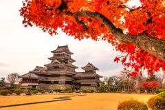 château Japon Matsumoto Photographie stock libre de droits