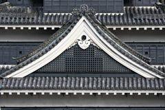château Japon Matsumoto Images stock