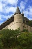 Château Karlstein. Image stock