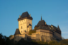 Château Karlstejn Photographie stock