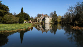 Château Kent England de Scotney photo stock
