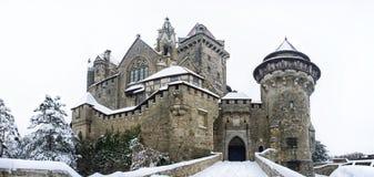 Château Kreuzenstein en Basse Autriche Photographie stock