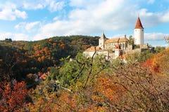 Château Krivoklat Image libre de droits