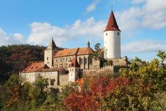 Château Krivoklat Photo libre de droits