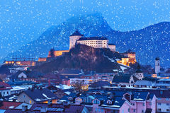 Château Kufstein en Autriche photos stock