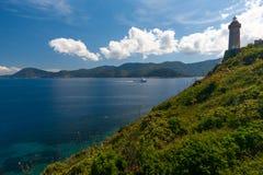 Château, lac garda, Italie Photographie stock libre de droits