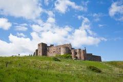 Château le Northumberland Angleterre R-U de Bamburgh photographie stock
