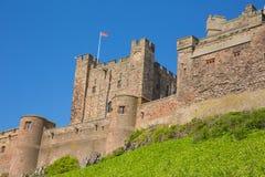 Château le Northumberland Angleterre R-U de Bamburgh images stock