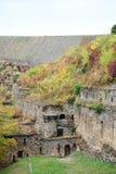 Château le Rhin dans Sankt Goar, Allemagne photographie stock