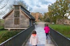 Château le Warwickshire de Kenilworth Photographie stock