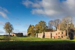 Château le Warwickshire de Kenilworth Image libre de droits