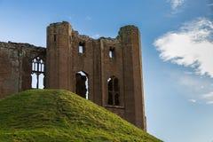 Château le Warwickshire de Kenilworth Images stock