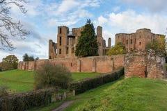 Château le Warwickshire de Kenilworth Photo stock