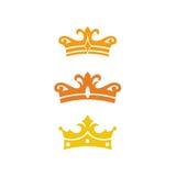 Château Logo Template Photographie stock