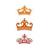 Château Logo Template Image stock